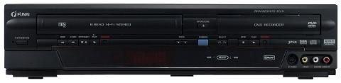 Funai W4A-A 4180 DB DVD-Recorder und Videorekorder HiFi-Stereo Kombination schwarz