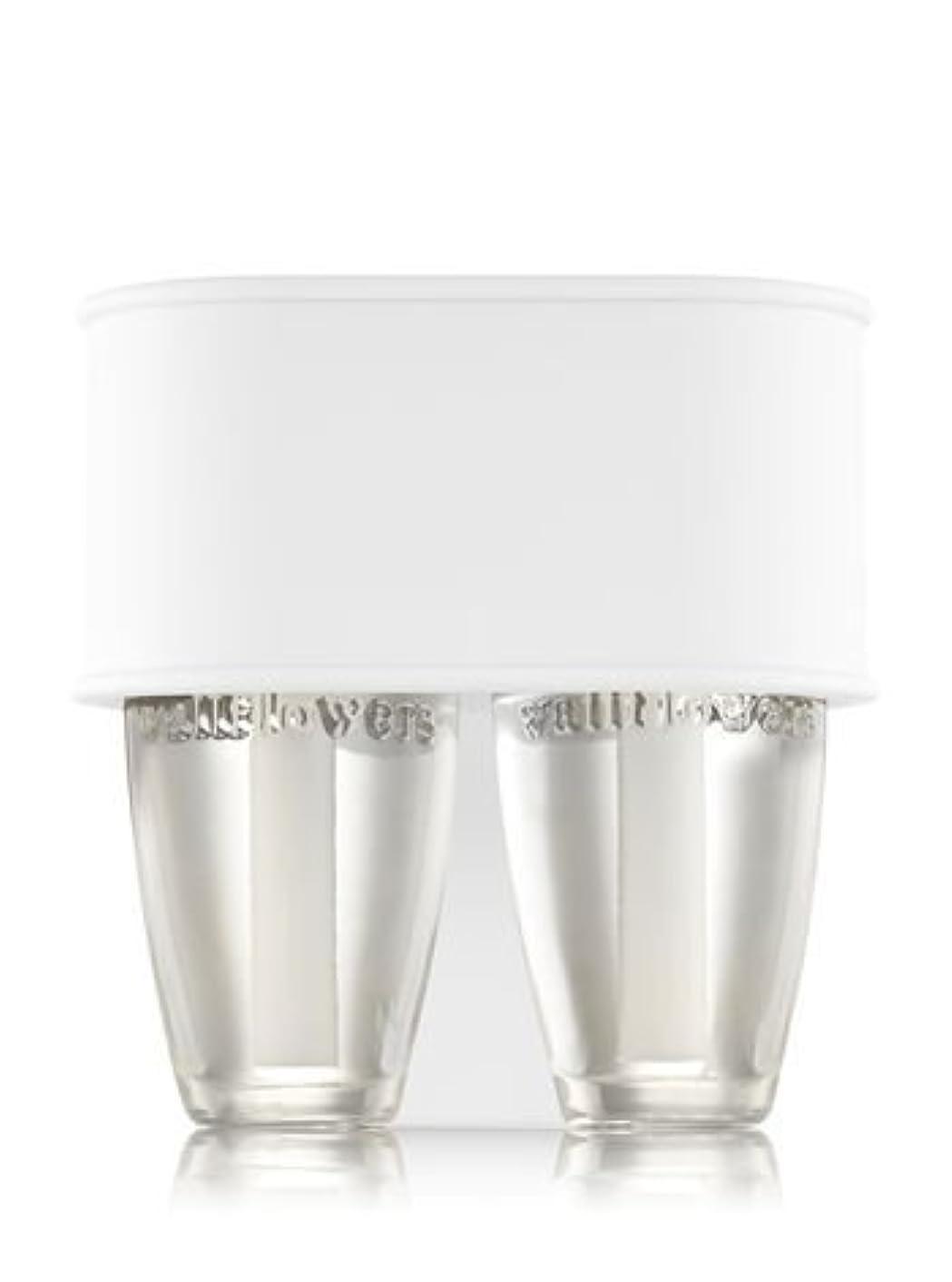 輝度大腿毎週【Bath&Body Works/バス&ボディワークス】 ルームフレグランス プラグインスターター デュオプラグ (本体のみ) ホワイトソフトタッチ Scent Switching Wallflowers Duo Plug White Soft Touch [並行輸入品]