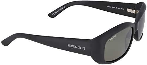 Serengeti Gafas de Sol BIANCA SHINY BLACK/MINERAL POLARIZED NM talla única unisex