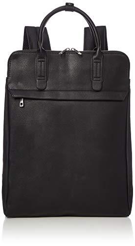[リネーム] ビジネスリュック 薄型 リュック バックパック メンズ 男性 バッグ 合皮 A4 Rename ブラック One Size