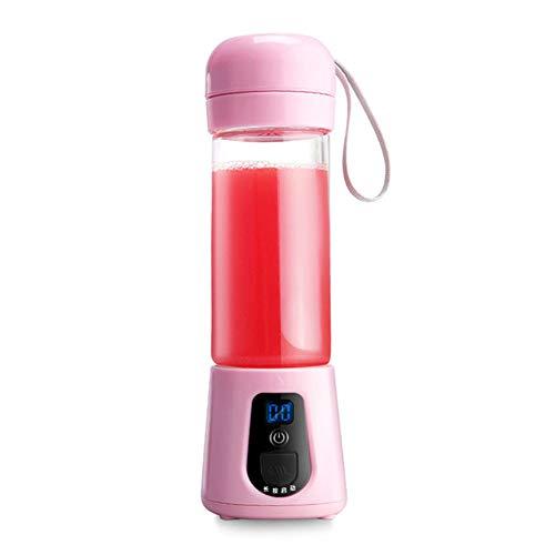 Review Of ZLIJUN USB Portable Juicer Multi-Function Juice Cup Mini Rechargeable Mixer,Pink