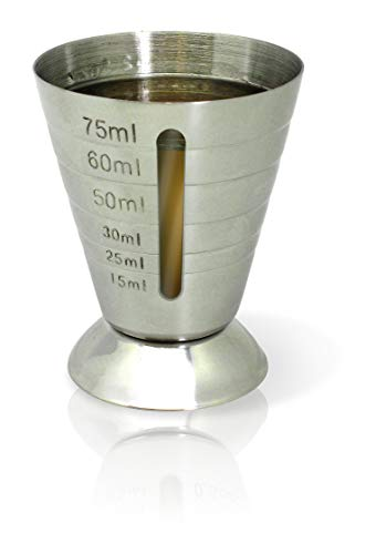 Vin Bouquet Dosificiador con barr indicadora, Plateado, 7 x 5.6 x 5.6 cm