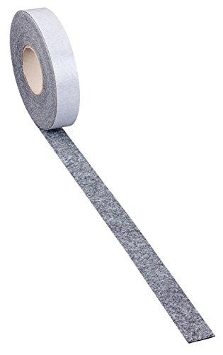 haggiy Filzstreifen - Möbelgleiter selbstklebend - 5,0 mm stark, Breite: 10 mm, Länge: 5 m