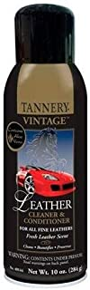 Tannery Vintage Leather Cleaner and Conditioner, 10 oz. aerosol, Case of 6 (144-C)