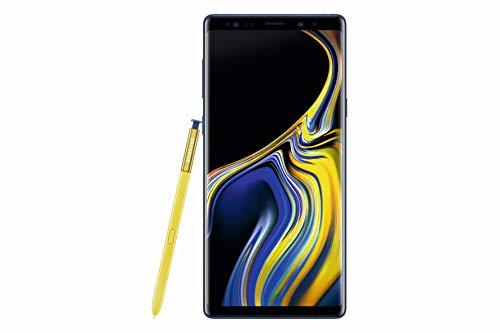 Samsung Galaxy Note9 Smartphone Display 6.4  128 GB Espandibili, RAM 6 GB, Batteria 4000 mAh, 4G, Dual SIM Smartphone, Android 8.1.0 Oreo, Blu (Ocean)