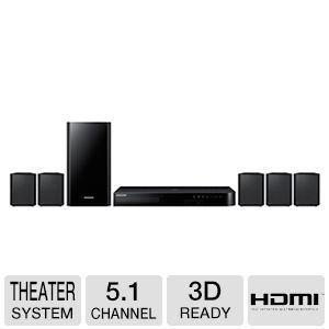 Samsung 5.1 Channel 500 Watt Bluetooth 3D Blu-ray Home Theater System