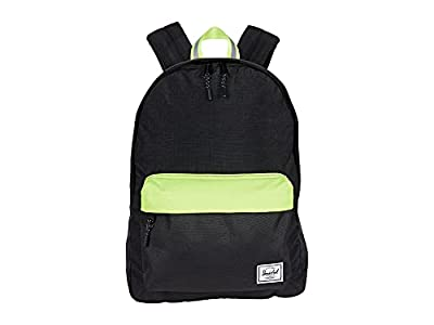 Herschel Supply Co. Classic Black Enzyme Ripstop/Black/Safety Yellow One Size