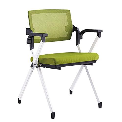 N&O Renovierungshaus Einfacher Moderner Stuhl Klappbarer Bürostuhl Konferenzraum Trainingsstuhl mit Schreibtafel Armlehne Ergonomischer Stuhl für den Heimgebrauch im Büro