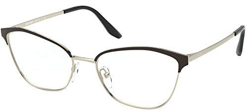 Prada Brillen Gafas de Vista LOVES ASIA PR 62XV BLACK 54/17/145 Damen