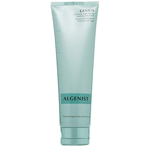 Algenist GENIUS Ultimate Anti-Aging Melting Cleanser - Milky Cleansing Oil for Makeup Removal with Avocado & Microalgae Oil - Non-Comedogenic & Hypoallergenic Skincare