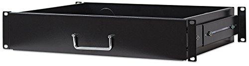 Intellinet plank 19 inch lade. 2 HE 350mm zwart