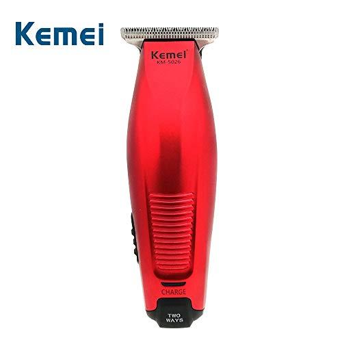 Maquina Corte Acabamento Barbeiro Cabeleireiro Kemei 5026 Profissional