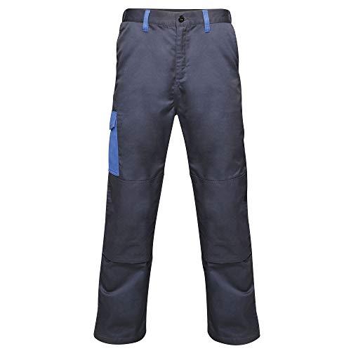 Regatta Pantalon Cargo résistant et imperméable pour Homme avec Triple Couture XXXXXL Bleu Marine/Bleu Roi.
