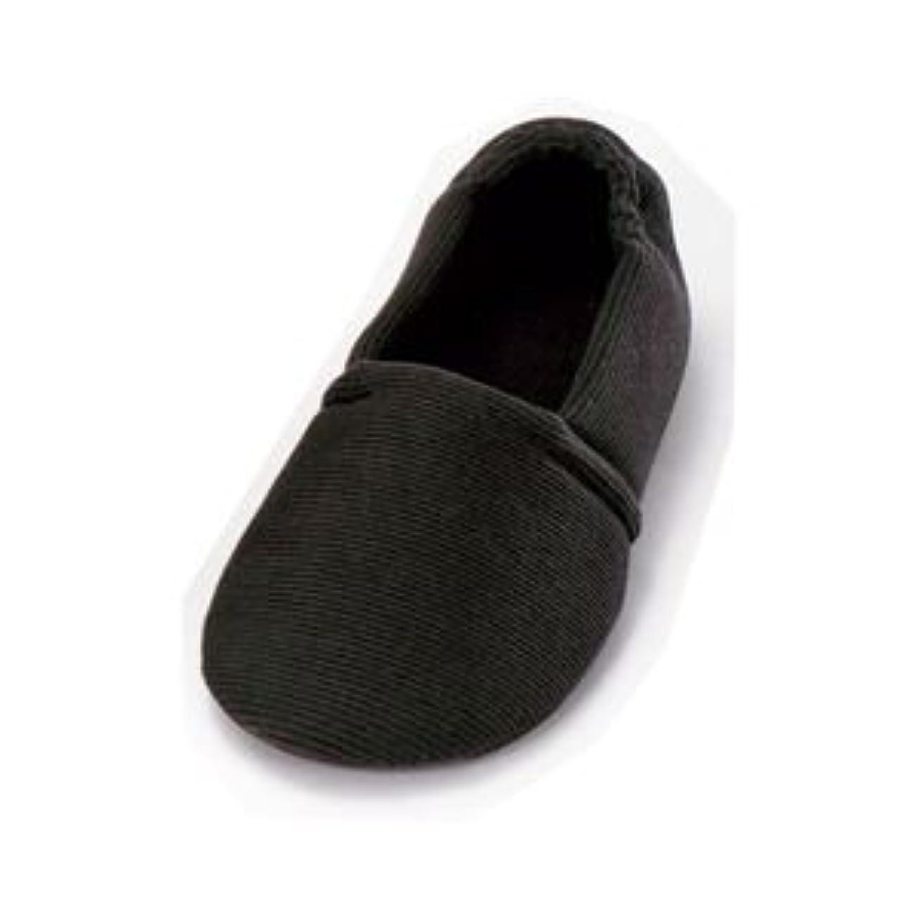 略すレギュラー初期の介護靴 室内用 エスパド 2004 両足 徳武産業 あゆみシリーズ / M ブラック