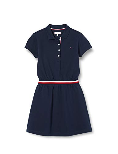 Tommy Hilfiger Global Stripe Polo Dress S/S Vestido para Niñas