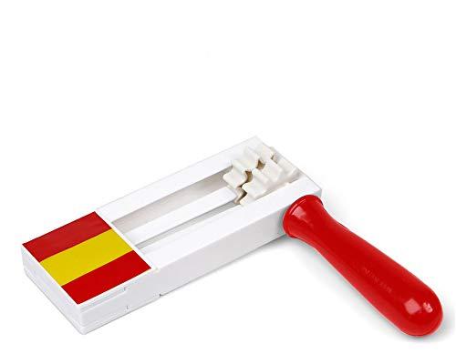 Atosa-22355 Atosa-22355-Carraca Matraca De España 15X18X2 cm-Mundial De Fútbol Y Deportes, Color Rojo y Amarillo (22355): Amazon.es: Juguetes y juegos