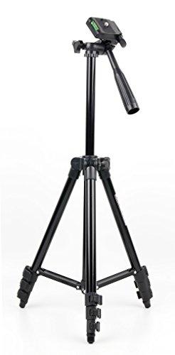 DURAGADGET Trípode Extensible con Nivel para cámara de vídeo JVC Everio GZ-RX110 | GZ-R415DEU | GZ-R10SEU | GZ-R15BEU | GZ-R15REU | GZ-R15WEU | GZ-RX510BEU Funda Protectora