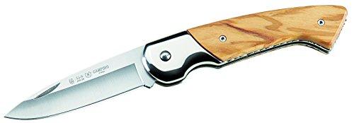 Nieto Messer Taschenmesser Olivenholz Länge geöffnet: 18.5 cm, braun, M