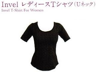 INVEL レディスTシャツ(Uネック) サイズ:M(日本サイズ換算M)