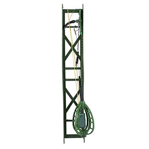 Gancio per Esche da Pesca Cage Feeder Basket Holder Richiamo Grossolano Feeder Accessori per Pesca alla Carpa Attrezzatura da Pesca(50G)