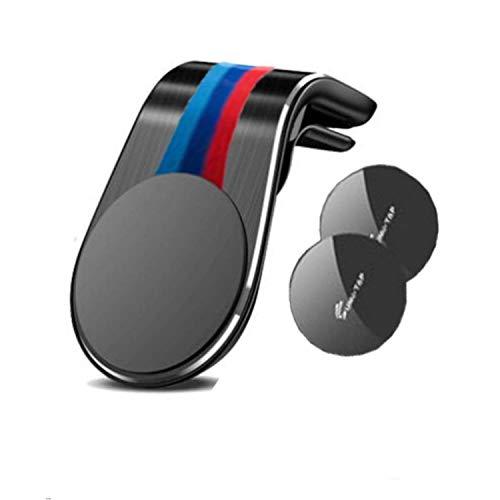 TIANQ Magnetische Handyhalterung für BMW E36 E46 E60 E90 F10 F20 F30 M1 M2 M3 M4 M5 M6 X1 X3 X5 X6 GT, Schwarz