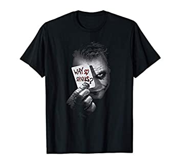 why so serious shirt