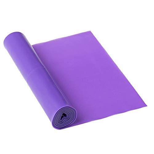 Cuerda de tracción de látex Inodoro respetuosa con el Medio Ambiente con Banda elástica de Yoga (púrpura)
