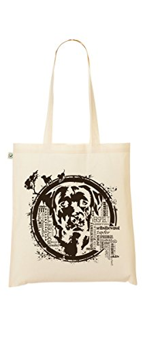 Shopper Bag – Labrador – Commercio Equo E Solidale – My-tagshirt – sacchetto di iuta