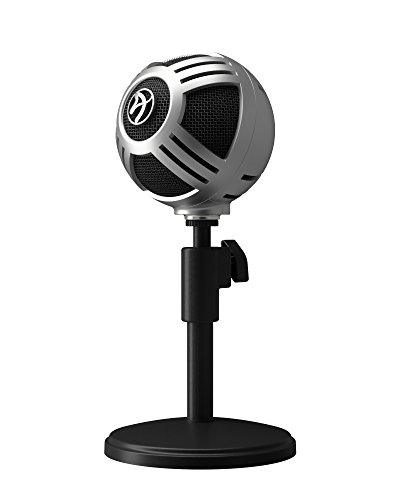 Arozzi Sfera PRO USB Microphone for Gaming & Streaming, PC/Mac/Linux