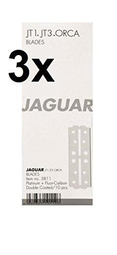 3er Set: Jaguar Klingen JT1 / JT 3 lang 10er Pack = 30 Stück