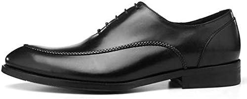 MISS&YG Herren Spitzen Schuhe England Business Dress schuhe