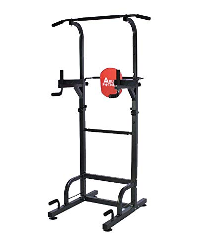 AbleFitness Dip Station Chin Up Bar Power Tower Pull Push Home Gym Fitness Core (Power Tower)