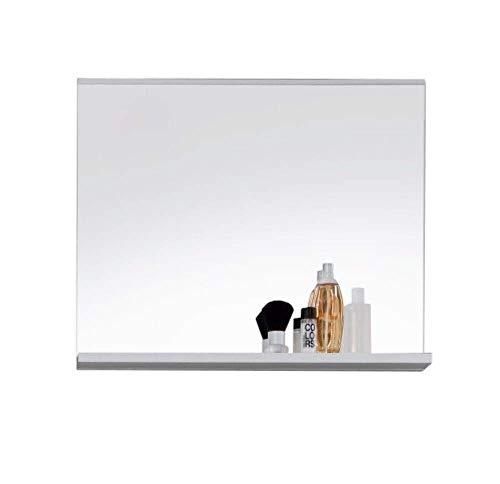 Trendteam Smart Living Mobili, Metallo, Bianco, 60 x 50 x 10 cm