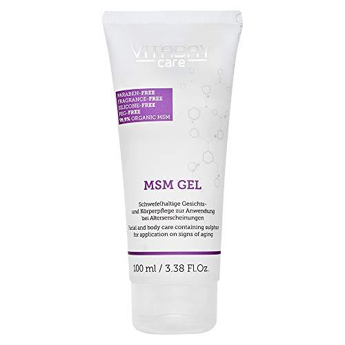 MSM-Gel Sensitive für Körper und Gesicht | ideal bei Unreinheiten, Pickeln und Mitessern - 100 ml