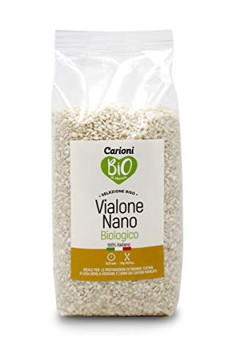 Carioni Food & Health Riso vialone Nano, Biologico, 1kg (Confezione da 6 Pezzi)