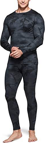 TSLA Men's Thermal Underwear Set, Microfiber Soft...