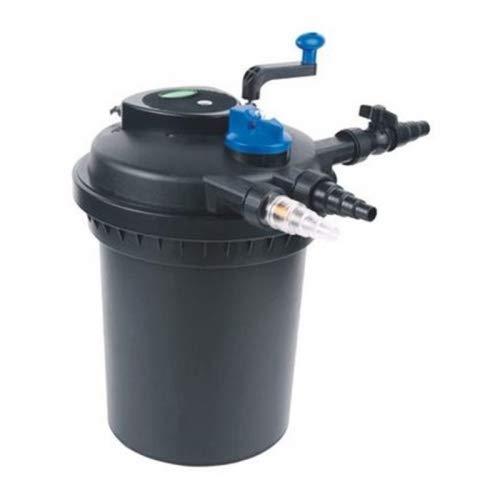Pondlife CPF-5000 Druckteichfilter mit integrierter UVC-Einheit 11 Watt für Teiche bis 8000 Liter Teichfilter Druckfilter Bachlauf