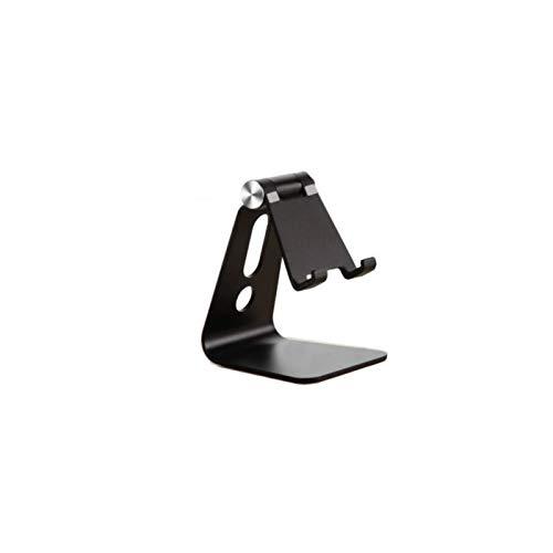 001 - Soporte universal para teléfono móvil (aluminio), color negro