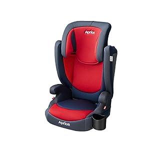 アップリカ シートベルト固定 3歳からのJrシート エア ライド AC Air Ride AC AC(レーシングレッド) 3歳~ (1年保証) 2107943