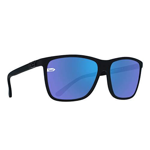 Gloryfy Unisex unbreakable (Gi15 St. Pauli blue) -Unzerbrechliche, Sport, Damen, Herren, Schwarz-Blau Sonnenbrille, Erwachsenen