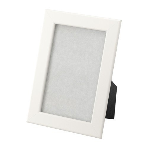 IKEA Fiskbo Rahmen, Plastik, Weiß, 10 x 15 cm