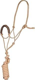 Jute Rope Halter and Lead Rope Best Cowboy 20.32cm 可拆卸铅*
