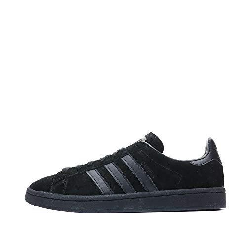 adidas Campus, Zapatillas de Deporte Hombre, Negro (Negbas/Negbas/Rojtac), 36 2/3 EU
