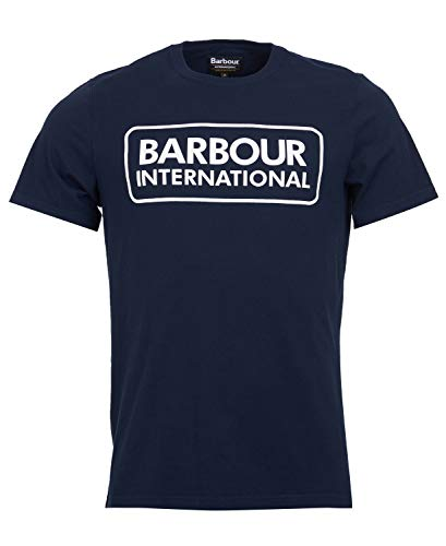 Barbour International Graphic tee Navy-M