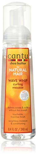 Cantu Natural Hair Wave Whip Curling Mousse 8.4oz by Cantu