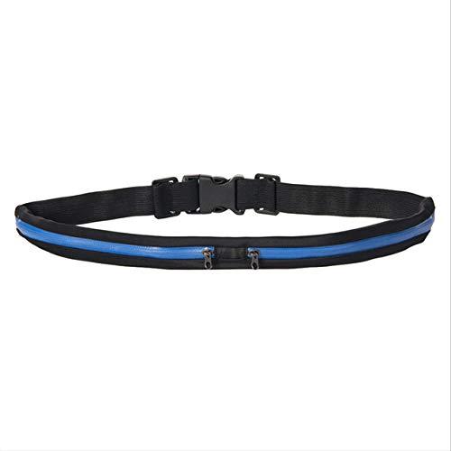 Wakerda - Riñonera para Correr (Ligera, para Viajes, Ciclismo Oculto, Bolsa de Seguridad, Cintura), diseño de Perro