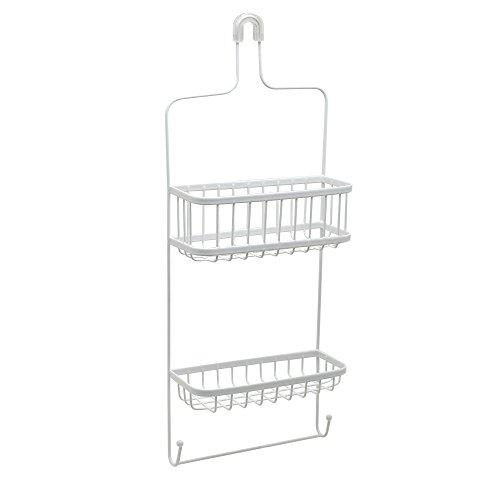 Zenna Home Duschablage für Duschkopf, 1 Stück, Weiß