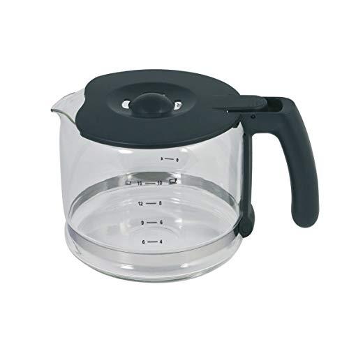 Glaskanne Kaffeekanne Ersatzkanne Kanne Krug Glas transparent grau Kunststoff ORIGINAL Aeg Electrolux 405505986/1 Filterkaffeemaschine Kaffeemaschine eingesetzt in KF7000 EKF7000 uvm