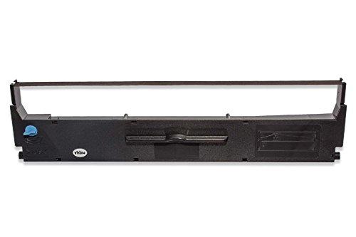 Cinta de nailon de tinta vhbw para impresora matricial Epson LX300, LX300+, LX300tII, LX350, MX 80, MX 80 F como C13S015647, C13S015637, S015637. ⭐