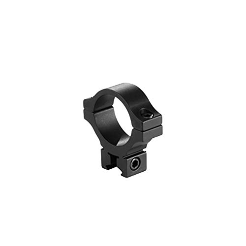 BKL Single 30mm Single Strap Ring, 3/8 or 11mm Dovetail, .60 Long, Low, Black